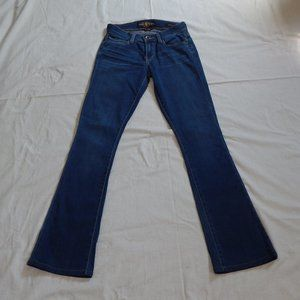 Women's Lucky Brand Sofia Boot Jeans Size 0 25